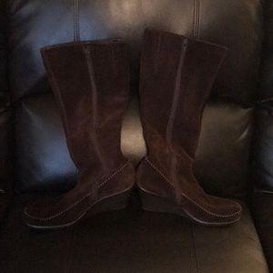 AEROSOLES Boots Wedge